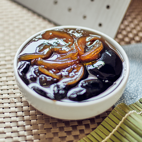 Grass Jelly with Sea Coconut