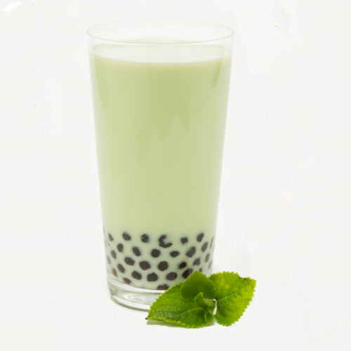 Peppermint Soymilk with Pearl