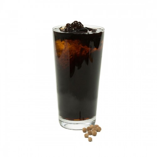 Grass Jelly Juice with Pearl